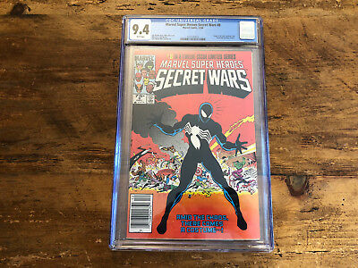 Marvel Super Heroes Secret Wars #8 CGC 9.4 1st Appearance of Venom Symbiote 1984
