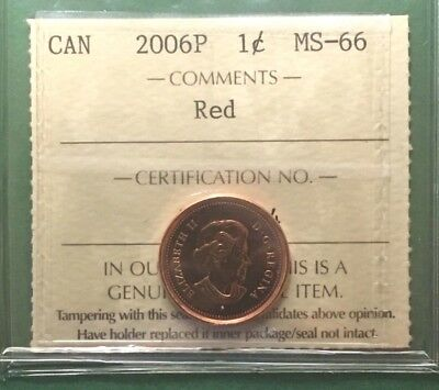 Ms66 Iccs 2006P 1 Cent Collect All Four High Grade Varieties