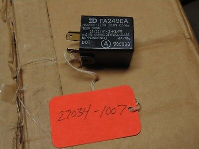 Kawasaki OEM Flasher Relay Voyager GPz Ninja Eliminator LTD Shaft 27034-1007