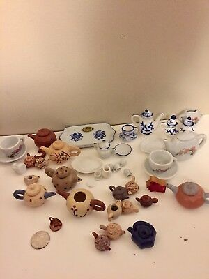 Minature Teapot Lot 50+ Pieces