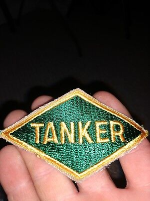 "Army Patch: ""TANKER"" diamond - WWII original"