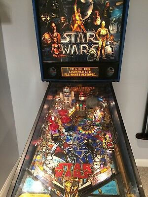 1992 Vintage Star Wars Pinball Machine Used in excellent condition - New Price!