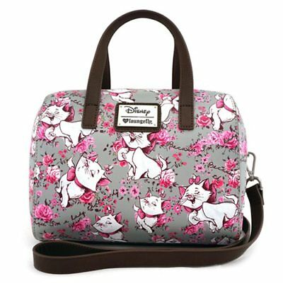 Disney Loungefly Aristocrats  Marie Grey and Pink Crossbody Purse Nwtags