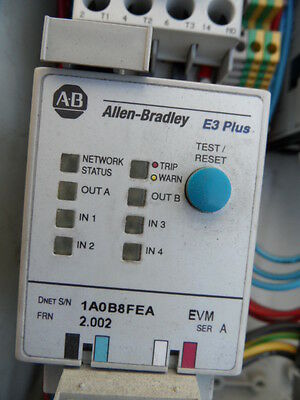 Allen-Bradley E3 Plus Overload Relay. Excellent Condition.