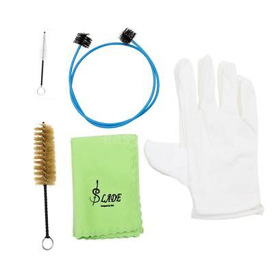Brasswind Instrument Trumpet Trombone Horn Cleaning Set Kit Tool New D4O7