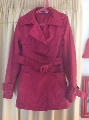 Girls jacket, size 12 by 'Tilii' (Myer) raspberry colour