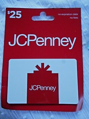 JC PENNEY NEW Gift Card-NO VALUE-Collectible, Memorabilia