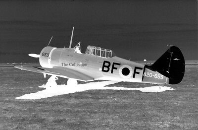 Commonwealth CA-16 Wirraway VH-BFF original 35mm photo negatives