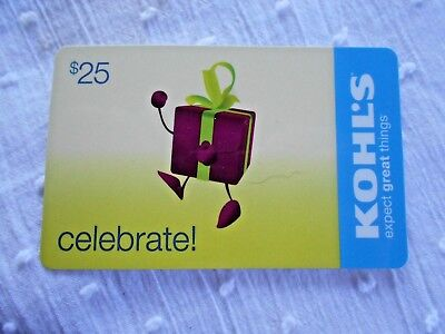 New  KOHL'S Gift Card -No Value- Collectible Memorabilia