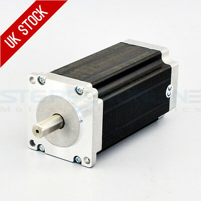 Nema 23 Stepper Motor 3Nm 4.2A 4-wires 10mm Shaft CNC Mill Lathe Plasma Router