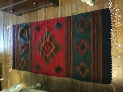 Mexican Wool ?  Rug Wall Hanging