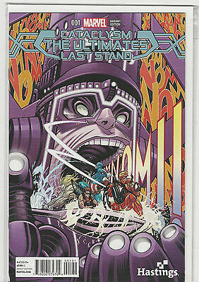 Cataclysm The Ultimates Last Stand #1 Hastings Variant Marvel Comics NM
