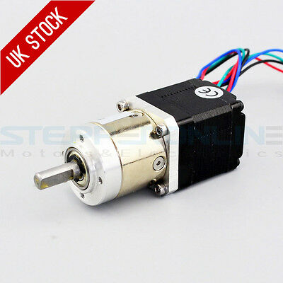 5:1 Planetary Gearbox Dual Shaft Nema 11 Stepper Motor 0.67A 4-wire DIY Robot