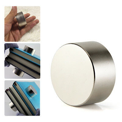 Large 40mm Neodymium Rare Earth Magnet Big Super Strong Huge Size (40mmx20mm)