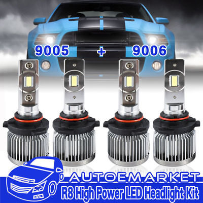 9005 9006 Led Headlight Bulbs For Toyota Corolla 2001 2017 Hi Lo Beam