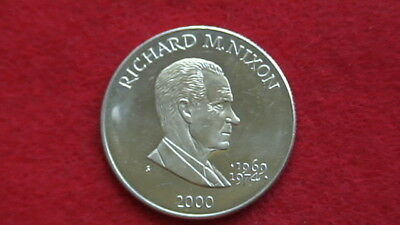 Five Dollars 2000, RICHARD M. NIXON 1969-1974 Republic of Liberia