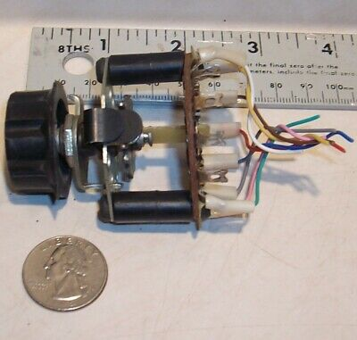 12 position rotary switch electrical salvage clean nice condition vintage