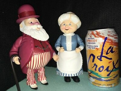 The Year Without A Santa Claus 2002 Santa & Mrs Claus Heat Misers Friends New