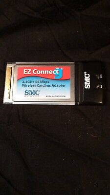 2.4ghz 54mbps wireless cardbus adapter EZ Connect G SMC Networth SMC1835W