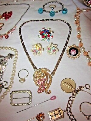 Vintage Womens Stunning Spring Summer Estate Jewelry Collection Mixed Lot