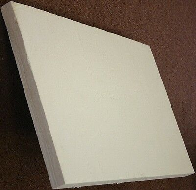 "Ceramic fiber board (2300°F), 900 mm x 600 mm x 50 mm (2"" thick), Free Shipping"