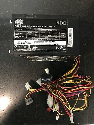 COOLER MASTER Power Supply 500W Unit RS-500-PCAR-I3
