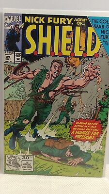 Nick Fury: Agent of SHIELD (1989 series) #39 in NM minus cond. Marvel comics