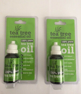 Tea Tree Oil - 30ml Bottles x4