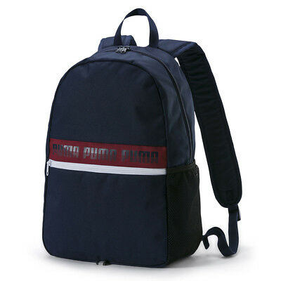 Puma Phase Backpack II Laptop Rucksack Backpack Bag Blue 075592 06 P
