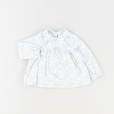 Blusa color Azul marca Tex 12 Meses