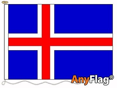 Iceland Custom Made To Order Various Flag Sizes