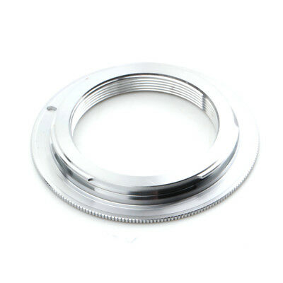 M42 Lens to Canon EOS Adapter Silver Brass without flange 500D 450D 300D 1200D
