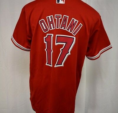 MAJESTIC MLB YOUTH Los Angeles Angels Shohei Ohtani Jersey LOOK L ... db07cb973