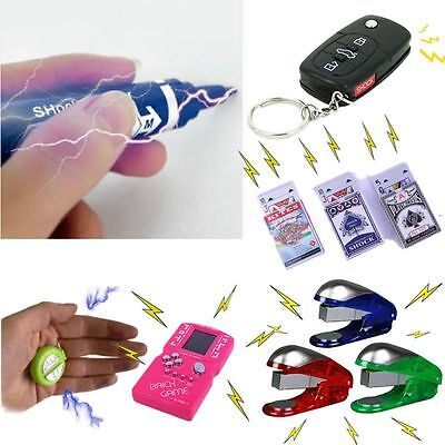Assorted Shocking Electric Shocker Toy Novelty Fake Gag Gift Trick Prank Joke