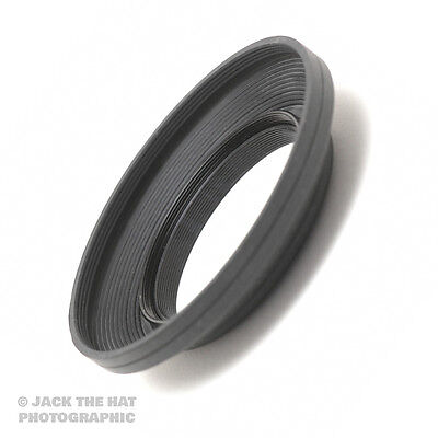 52mm Wide Angle Rubber Lens Hood. Screw fit. Retractable and Anti-Reflective