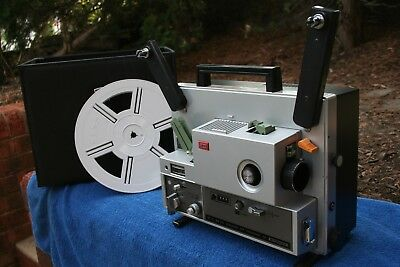 Elmo ST-1200 HD Super 8 movie projector - excellent!