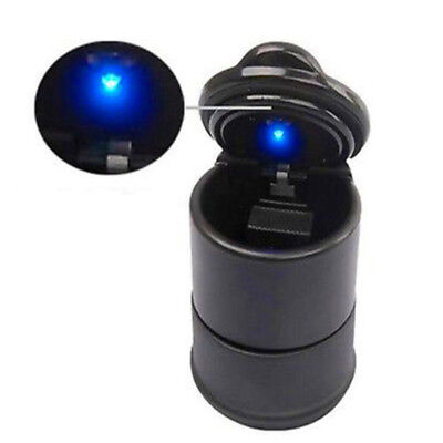 Portable Auto Car Truck LED Cigarette Smoke Ashtray Ash Cylinder Cup Holder