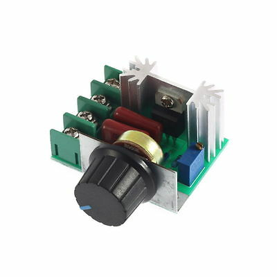 2000W AC 50-220V 25A Adjustable Motor Speed Controller Voltage Regulator PWM ^^