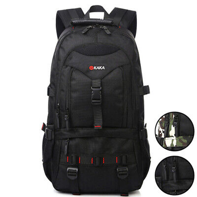 35L Large Capacity Mens Backpack Outdoor Mountaineering Camouflage Travel Bag