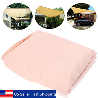 20'x13' Rectangle Sun Shade Sail Cover Waterproof Outdoor Patio Canopy Shelter