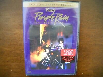 Brand New! Purple Rain - Two Disc Special Edition DVD - 20th Anniversary Prince