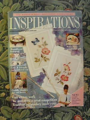 Inspirations Embroidery Magazine - Issue 30 - 2001 - As New