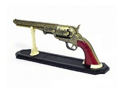 Replica Antique Colt 1851 Navy Pistol Lighter w/stand for Old West enthusiasts