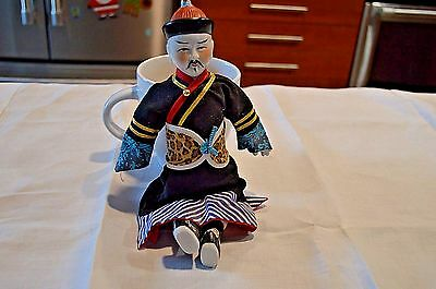 "11"" Asian Male Doll / Figurine"