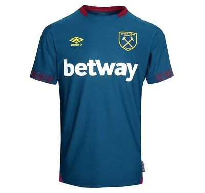 West Ham Away Shirt 2018-2019 BNWT Fast Delivery