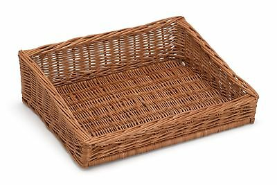 Sloping Wicker Display Basket 50x40cm