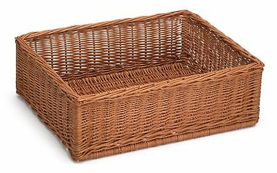 Large Display/Storage Wicker Basket 60Cm x 40Cm