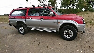 Mitsubishi L200 GL Double cab pick up