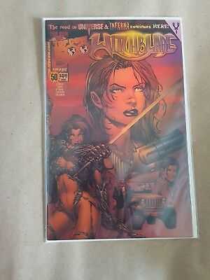 Witchblade #50 - Gold Chrome w/ COA - Top Cow - Dynamic Forces