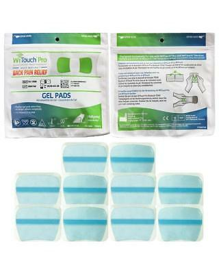 Witouch Gel Pad Refills - 1 Pack of 10 Pads (5 Pairs of Pads) 3/2020 Exp